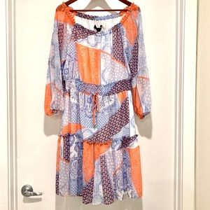 Tommy Hilfiger Monterey Colorful Dress NWT Size 10